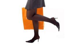 nogi papieru, toreb na zakupy, Fotografia Royalty Free
