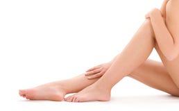 nogi piękna zdrowa kobieta obrazy stock