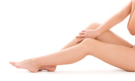 nogi piękna zdrowa kobieta obrazy royalty free