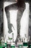 Nogi piękna naga dziewczyna