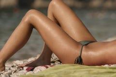 nogi słońce zdjęcia stock