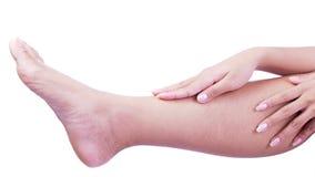 Nogi skóra zdjęcie stock