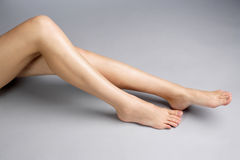 nogi to kobiety Zdjęcie Royalty Free