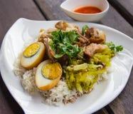 nogi wieprzowiny ryż Zdjęcia Stock