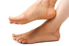 nogi z białą kobietą zdjęcie stock