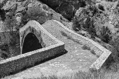 Noguera (Catalunya), historic bridge Stock Images