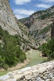 Noguera (Catalunya), river Royalty Free Stock Photos