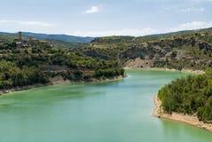 Noguera (Catalunya), river Royalty Free Stock Photography