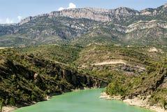 Noguera (Catalunya), river Stock Photography