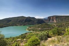 Noguera (Catalunya), river Royalty Free Stock Image