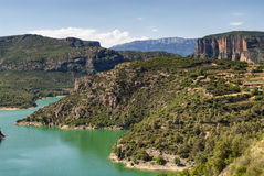 Noguera (Catalunya), river Stock Photos