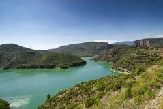 Noguera (Catalunya), river Royalty Free Stock Photo