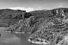 Noguera (Catalunya), river Stock Images