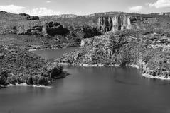 Noguera (Catalunya), river Stock Photo