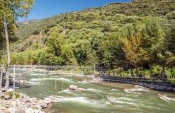 Nogueras river Stock Photo