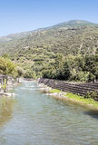 Nogueras river Stock Images