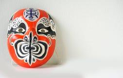 Noh一个传统日本剧院面具 图库摄影