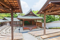 Noh teater av den Okazaki slotten, Aichi prefektur, Japan Arkivbild