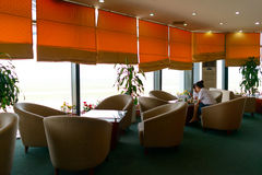Noi Bai lotniska międzynarodowego wnętrze Obrazy Stock