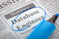 Noi ` con riferimento all'ingegnere di noleggio della base di dati 3d Immagini Stock Libere da Diritti