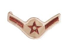 Noi rango di sergente dell'aeronautica Immagini Stock
