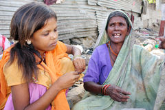 Noia di povertà Fotografia Stock Libera da Diritti