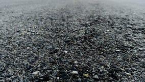 ` Noir d'infini de ` d'Asphalt Trailing Into photos stock