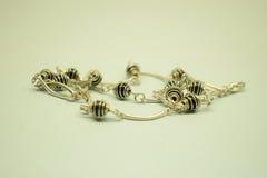 Noir d'onix de bracelet Image stock
