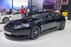 Noir de carbone d'Aston Martin DB9 Photo stock