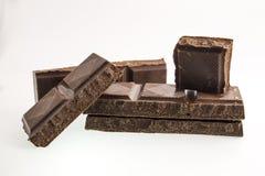 Noir de chocolat Photographie stock