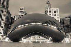 Noir de la haba de Chicago Imágenes de archivo libres de regalías