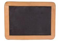 Noir de panneau de craie Photographie stock libre de droits