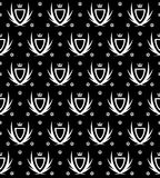 Noir de papier peint Photo libre de droits