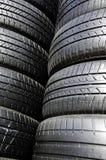 Noir de pneu. Photographie stock