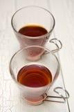 Noir de thé photographie stock libre de droits