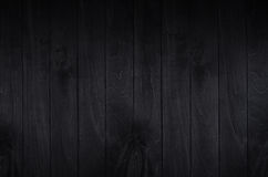 Noir elegance black wooden board background. Wood texture. stock photos