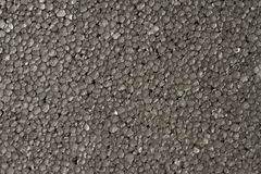 Noir en pierre de mousse de styrol Photos stock
