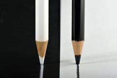 Noir et blanc Images stock