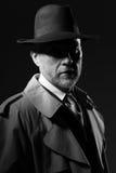noir filmtecken för 50-tal Royaltyfri Foto