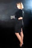 Noir flickakamera för bio Royaltyfri Bild