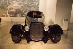 Noir Ford Roadster 1932 0032 Images stock