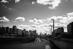 Noir street. Stock Photos