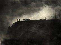 Noir Szene Lizenzfreies Stockbild