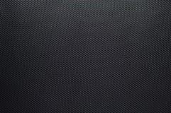 Noir texturisé de fibre de carbone Photographie stock