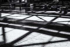 noir woodwards shadows -vancouver-gastown-xe2-20150609-DSCF6455-Edit.jpg Stock Photos