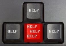 Noircissez le clavier photo stock