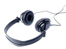 Noircissez les écouteurs Photos libres de droits