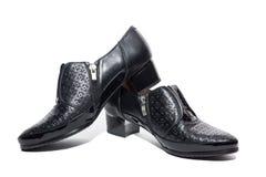 Noircissez les chaussures femelles photos libres de droits