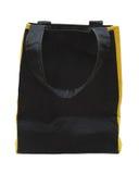 Noircissez n'importe quel sac jaune d'eco de coton Image stock