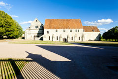 Noirlac Abbey Royalty Free Stock Images